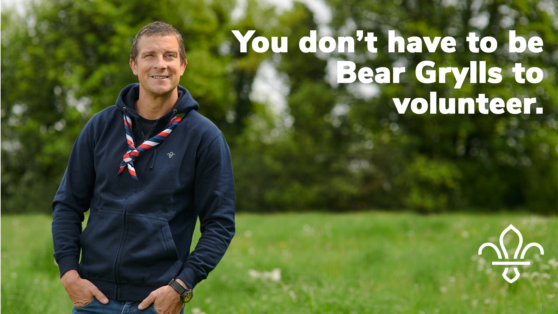 #GoodForYou – A message from Bear Grylls
